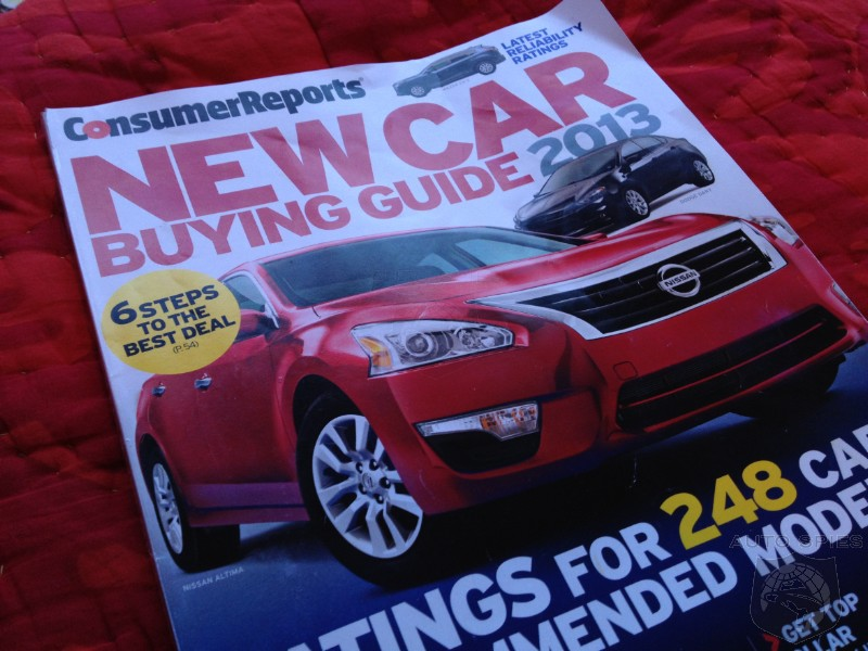 Is Consumer Reports Bullying The Industry To Sell Magazines?