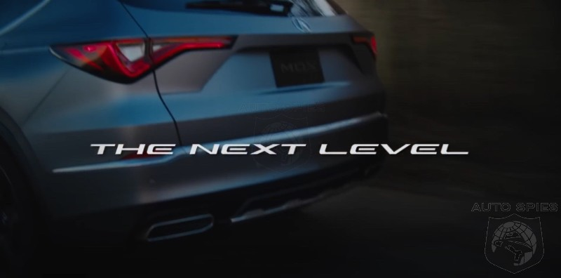 OFFICIAL: Next-Gen Acura MDX Prototype. Acura Calls It NEXT LEVEL. Do You?