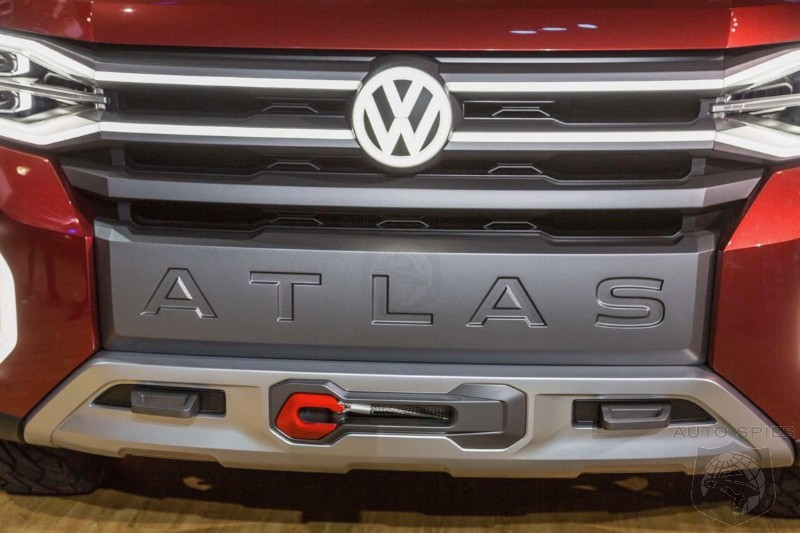 #NYIAS: Volkswagen May Have Just Found The Keys To The Truck Market With The Tanoak Midsized Pickup