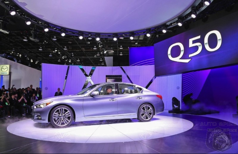 DETROIT AUTO SHOW: Infiniti CEO Says 4 New Models In 4 Years And Redesign Of  Entire Lineup
