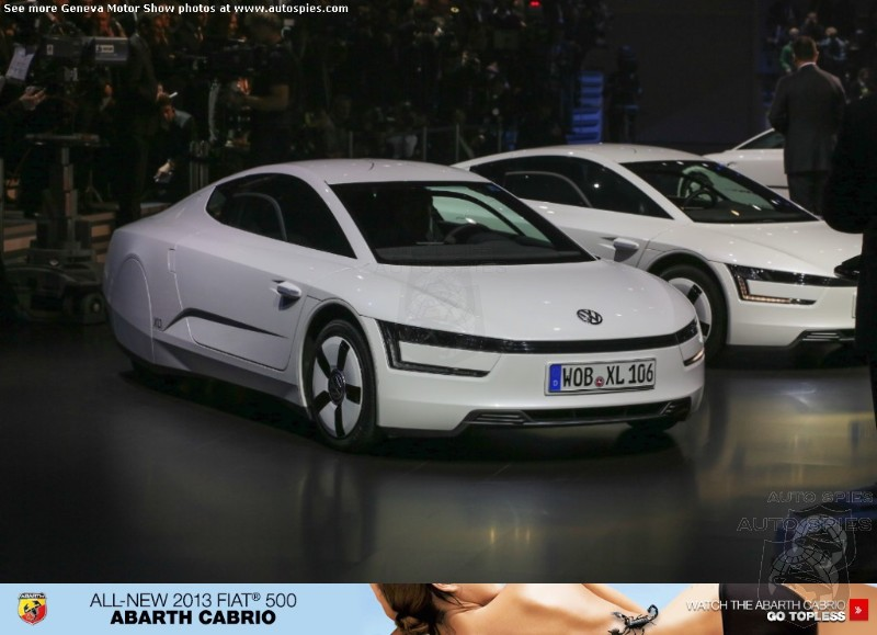GENEVA MOTOR SHOW:  Has Volkswagen Rewritten The Efficiency Rules With The  New XL1?