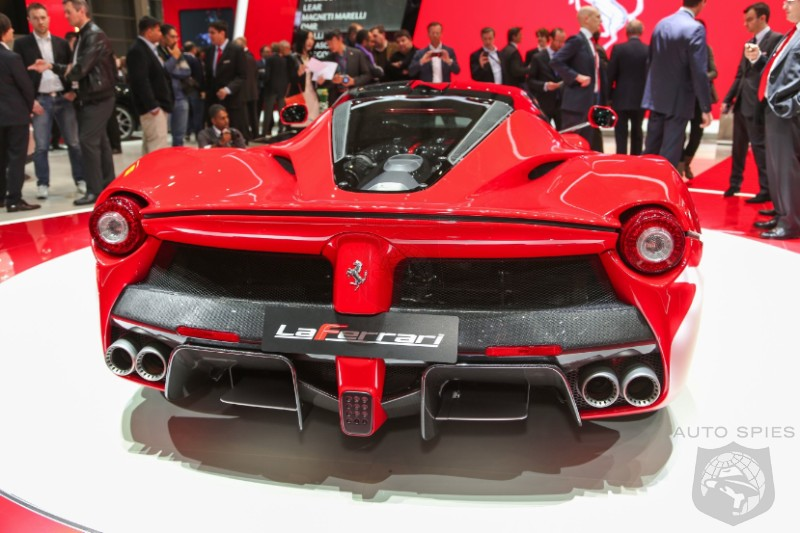 GENEVA MOTOR SHOW: First Live Look At The Ferrari LaFerrari A Worthy Successor To The Enzo?