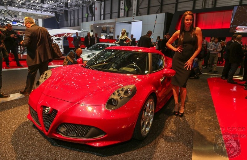 GENEVA MOTOR SHOW: Fiat Banking On Alfa Romeo 4C To Light The Fire For Future Sales