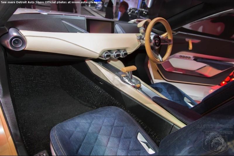 DETROIT AUTO SHOW: Nissan's IDx Twins Interior Bring Old ...