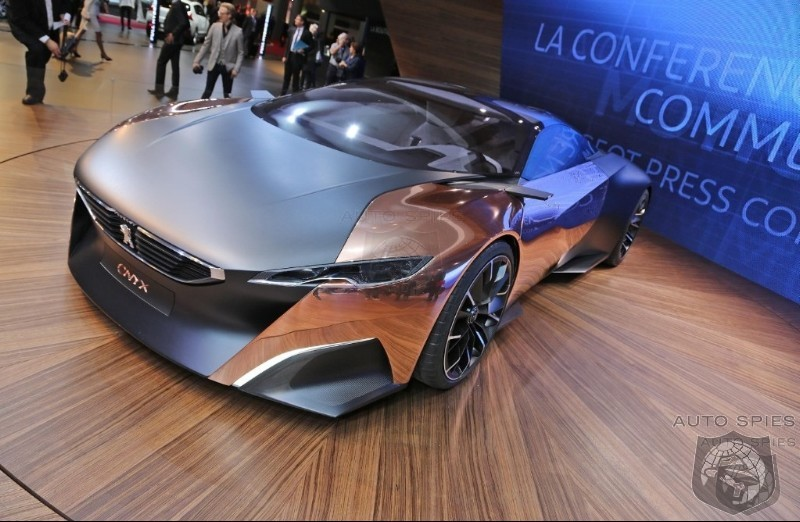 PARIS MOTOR SHOW: Peugeot's Onyx Proves Even The French Can Make A Sexy Supercar