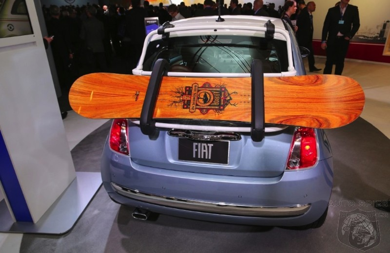 NEW YORK AUTO SHOW: Fiat Stealing From The Mini Playbook, But Is That Such A Bad Thing?