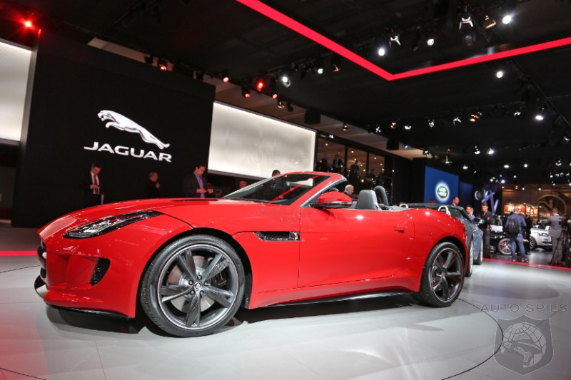 PARIS MOTOR SHOW: The Jaguar F-Type In The Flesh - This Cat Is Purrrfect From Any Angle!