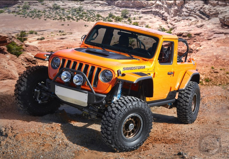 NYIAS: Jeep Unveils Seven Concept Vehicles For 52nd Annual Moab Easter Jeep Safari