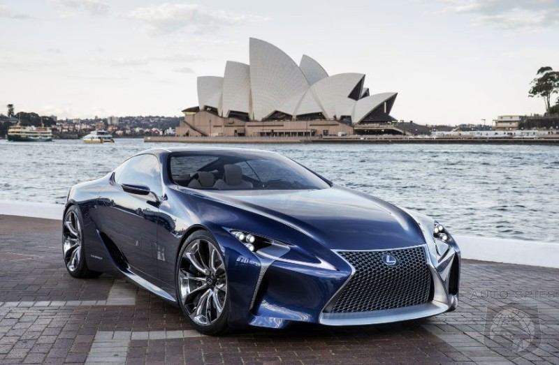 LF-CC To Officially Become The Next Lexus Sports Car