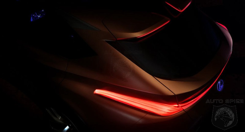 Lexus Teases LF-1 Luxury Flagship Before Detroit Auto Show