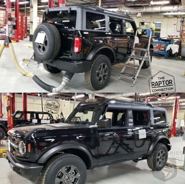 UNCOVERED: 2021 Bronco In Black And A Glimpse Of A Two