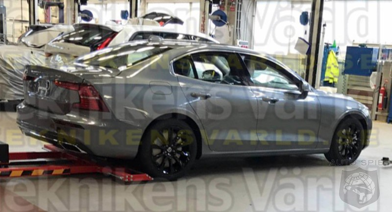 SPIED: Volvo's S60 Gets Nabbed In The Nude - Were You Expecting More?