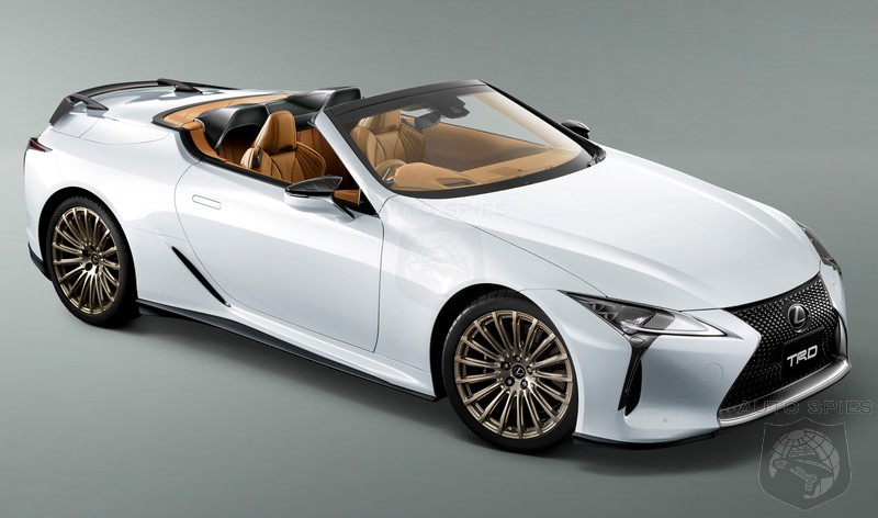 Lexus Debuts TRD Parts For LC 500 In Japan