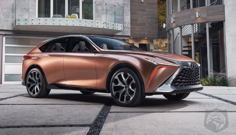 Go Or No? Lexus Executive Are Hot And Heavy For A Production LF-1 SUV
