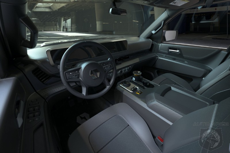 Lordstown Showcases Interior Of New Endurance EV Pickup