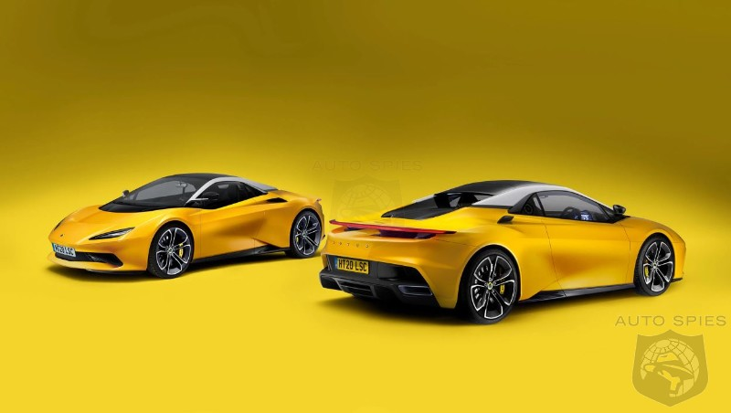 Lotus Confirms First New Sports Car In Over a Decade
