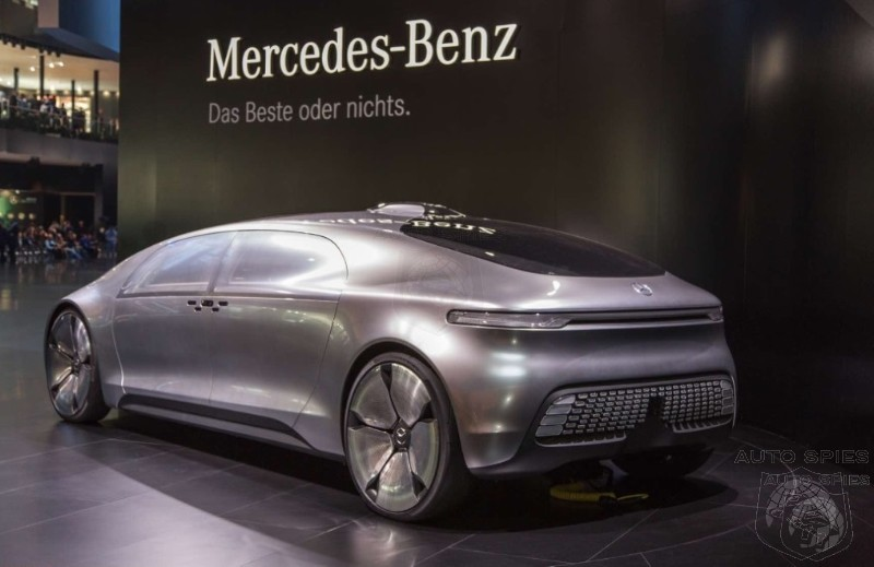 Iaa mercedes benz claims it will counter tesla with an for Who owns mercedes benz now