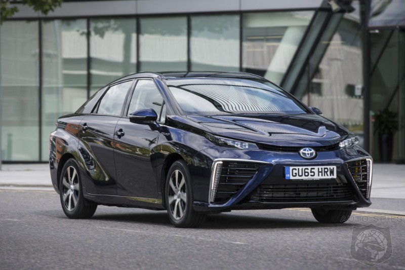 Toyota Issues Global Recall Of Mirai Fuel Cell Vehicles For Shut Down Issues