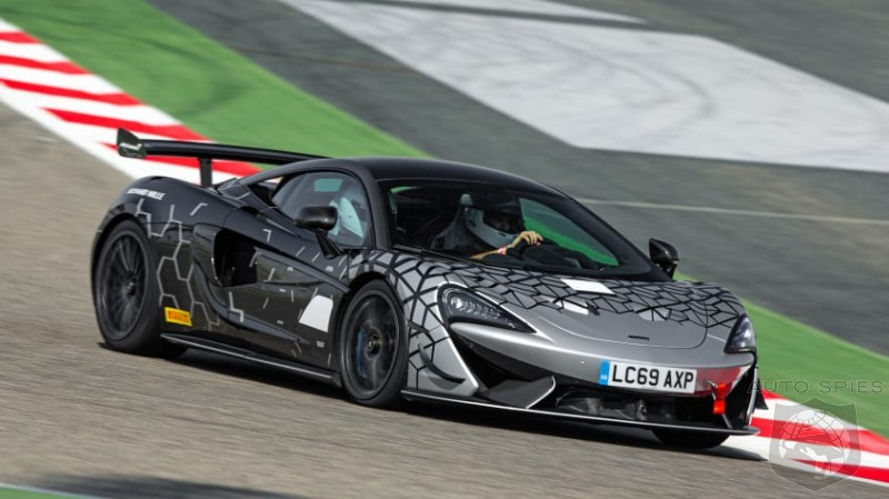 McLaren 620R Brings The GT4 Racer To The Streets