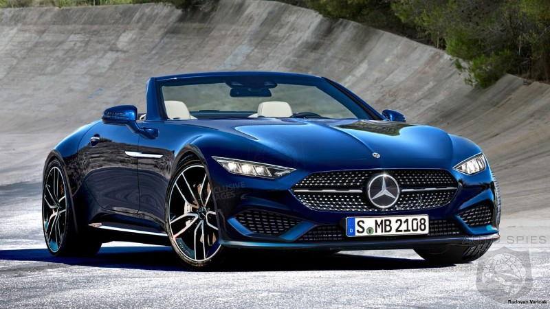 AMG Developing 2021 Mercedes SL As A 2+2 Roadster
