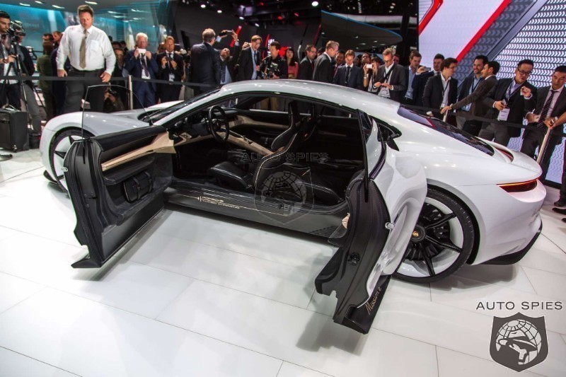 Porsche's Mission E To Become A FAMILY Of Vehicles