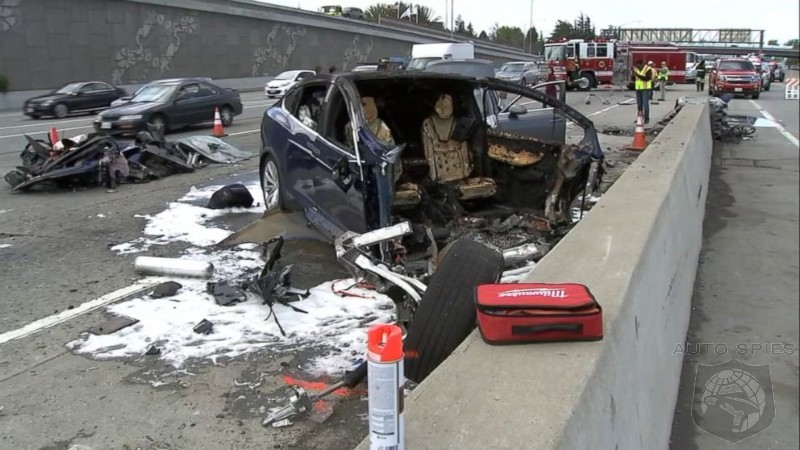 NTSB Reveals Model X Was Accelerating Moments Before Fatal Crash Into Stationary Barrier