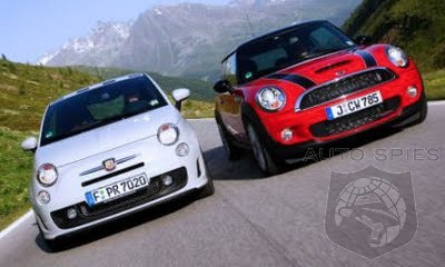The Little Car The Could - How Long Until The Fiat 500 Outsells All Of Mini?
