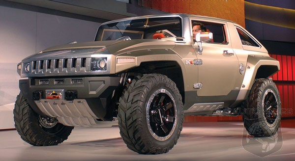 GM Considers Reviving Hummer As An EV Brand