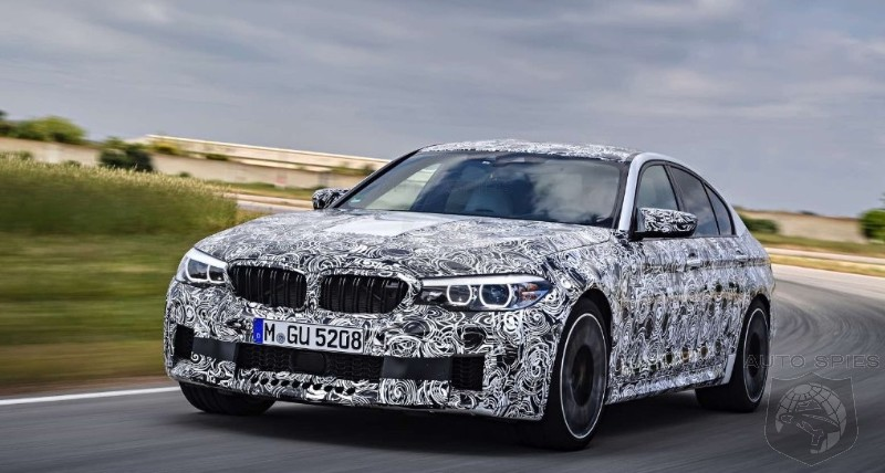 SPIED! We Take The Clothes Off The Camouflage Off (Kind Of) The New BMW M5 xDrive!