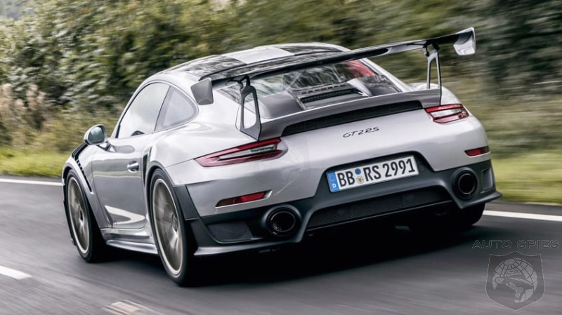 Porsche GT2 RS Receives 3D Printed Pistons For A 30 HP Increase In Power
