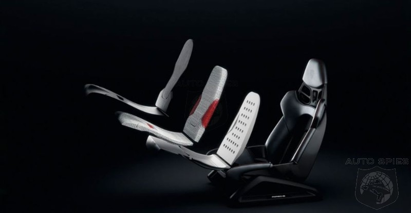 Porsche Introduces 3D Printed Seats Customized To Fit Your Body