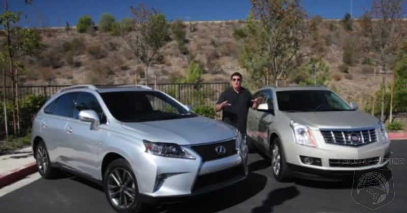 2013 Lexus RX350 F Sport VS. 2013 Cadillac SRX Which Is The Better ...