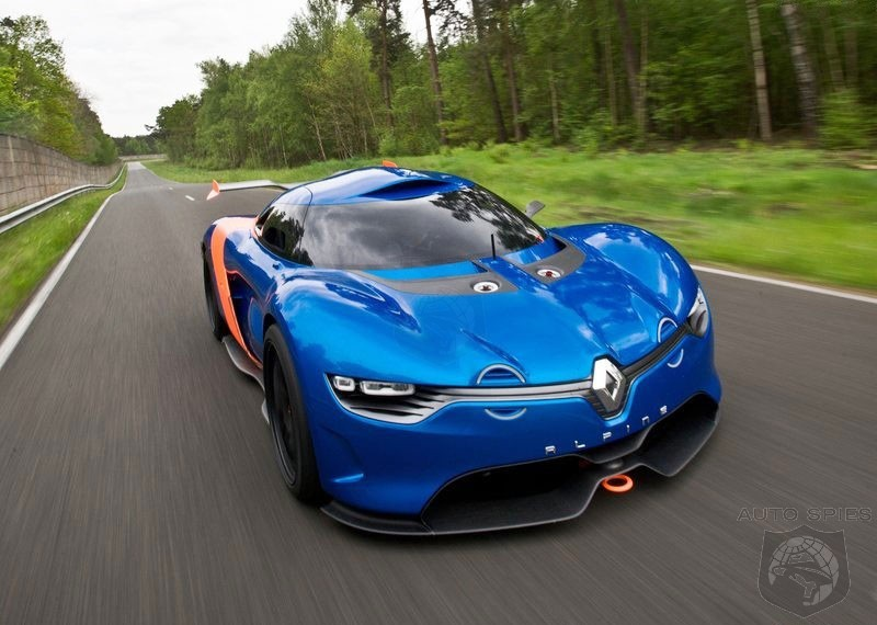 Nissan, Renault and Caterham To Collaborate On New Alpine Sports Car