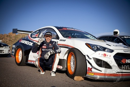 Hyundai Genesis Lays Claim To Fastest 2WD Time Up Pikes Peak ...