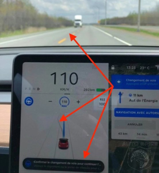 Why Would Tesla's Autopilot Recommend Changing Lanes Into Oncoming Traffic?