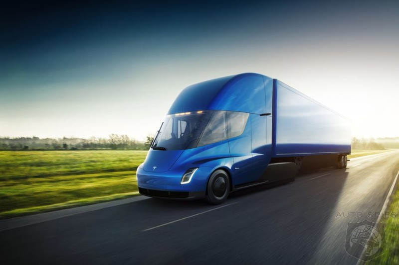 Orders Keep Piling In For Tesla's New All-Electric Semi Truck