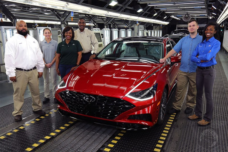 Hyundai Assembly Lines Still Running Because It Ignored The Just In Time Supply Chain And Bought Up Semiconductors