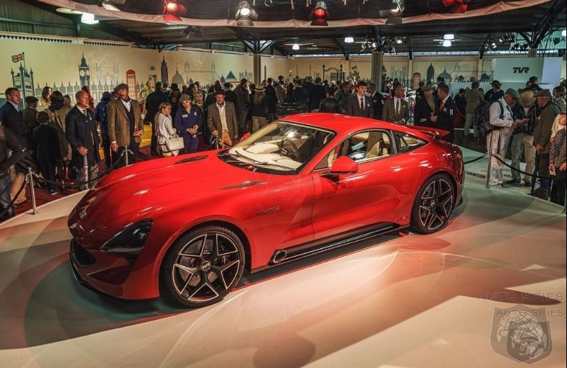 #IAA: TVR's Griffith Is What The New Supra And Z4 SHOULD Have Been All Along