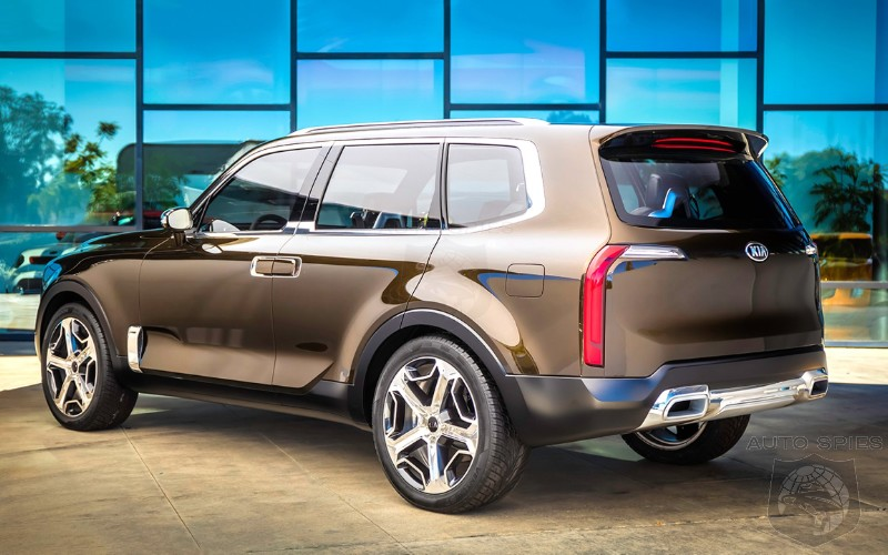 Kia Working On Full Sized SUV Based Off Telluride Concept