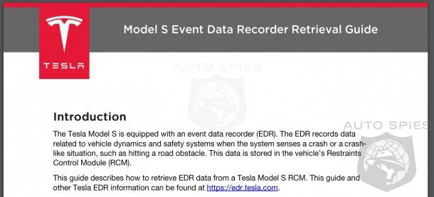 Tesla To Put And End To Accident Questions - Will Give Open Access To Crash Data