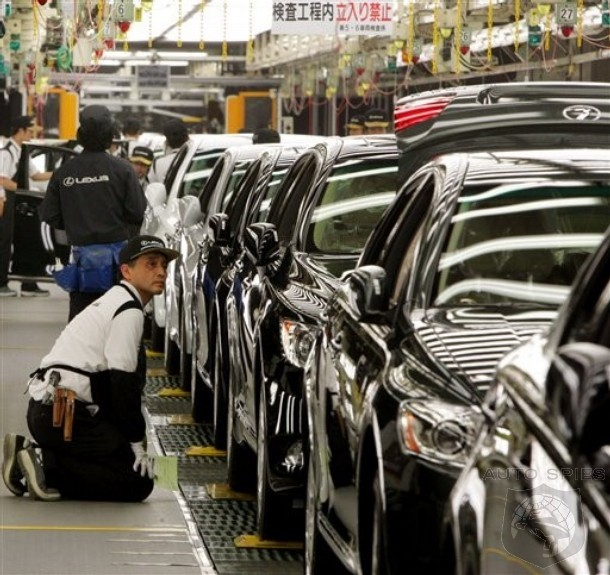 Toyota Leads Recall Tally Three Out Of Last Four Years With Most In 2012