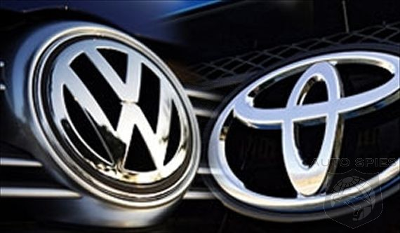 Toyota May Be Number One But Volkswagen Is Closing Fast