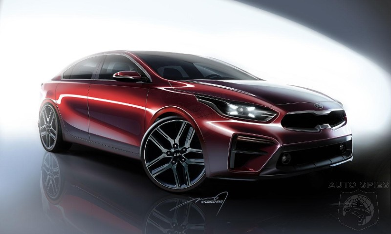 #NAIAS: Kia Goes Bold And Gives Next Gen Forte A Stinger Like Look