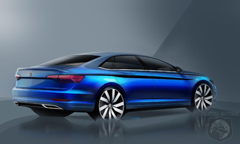 Volkswagen Gives New Jetta A CC Style Refresh - Will That Bolster Sales?