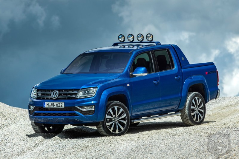 Volkswagen Finalizes Plan To Develop Midsized Pickup With Ford