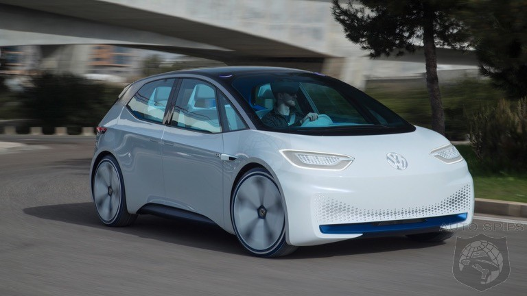 Pre-Orders Of Volkswagen's ID.3 Exceeding Expectations
