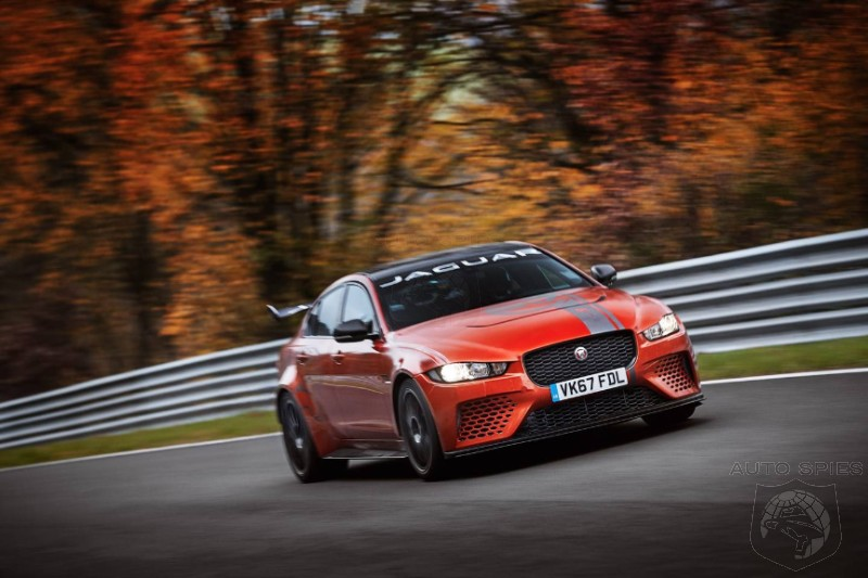 Jaguar To Pounce On The Germans With The 592HP XE SV Project 8