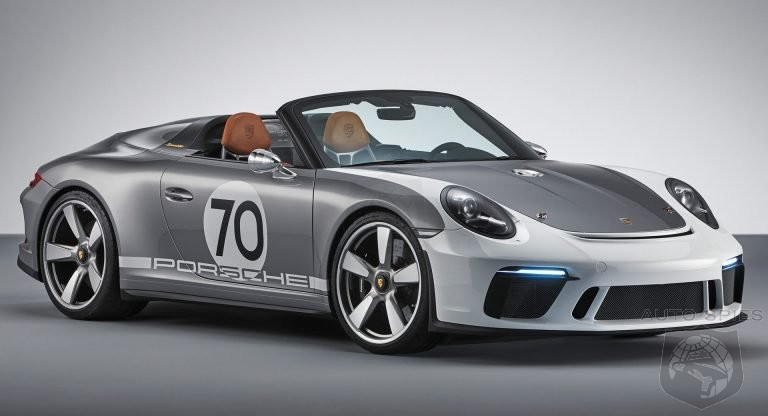 NYIAS: Porsche To Debut 911 Speedster Next Week