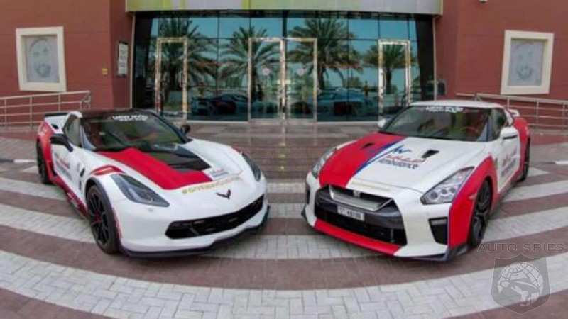 Say What? Dubai Adds Corvette And GT-R To Ambulance Service