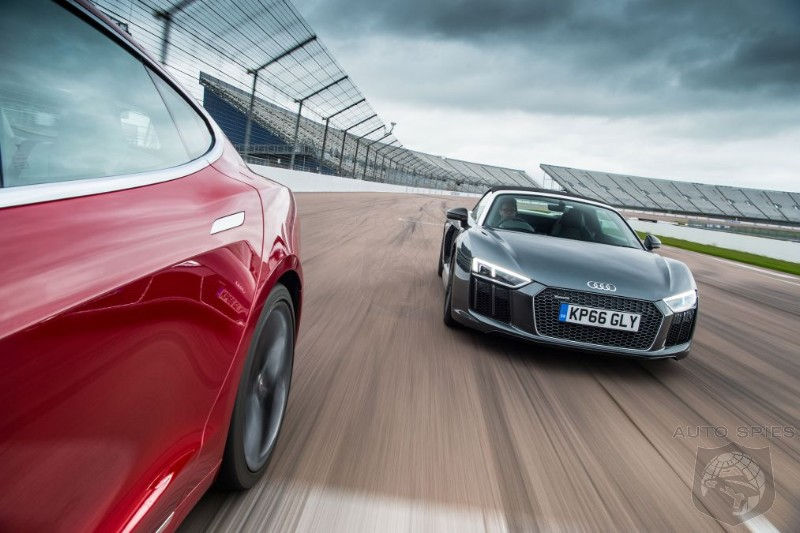 Is It Just About Acceleration? Tesla Model S P100D Vs Audi R8 V10
